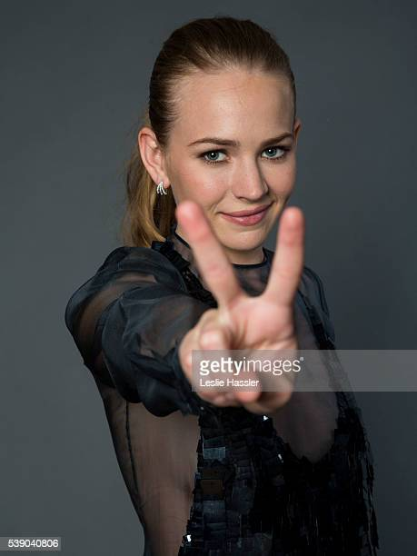 Actress Britt Robertson is photographed for Glamourcom on April 22 2016 in New York City PUBLISHED IMAGE