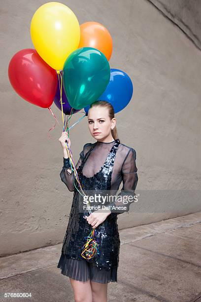 Actress Britt Robertson is photographed for Vanity Faircom on April 19 2016 in New York City