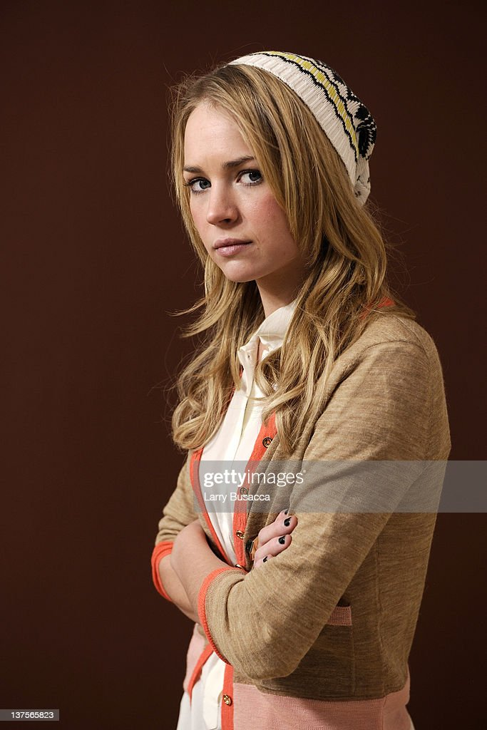 Actress Britt Robertson Poses For A Portrait During The 2012