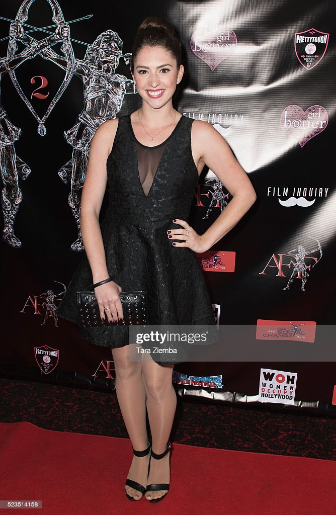 Actress Brittany Belt attends the 2nd Annual Artemis Film Festival-Red Carpet Opening Night/Awards Presentation at Ahrya Fine Arts Movie Theater on April 22, 2016 in Beverly Hills, California.