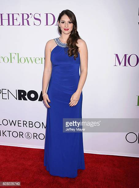 Actress Brittany Belt attends the Open Roads World Premiere of 'Mother's Day' at the TCL Chinese Theatre IMAX on April 13 2016 in Hollywood...