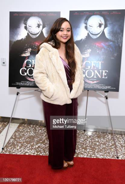 Actress Brittany Benita attends the premiere of Get Gone at Arena Cinelounge on January 24 2020 in Hollywood California