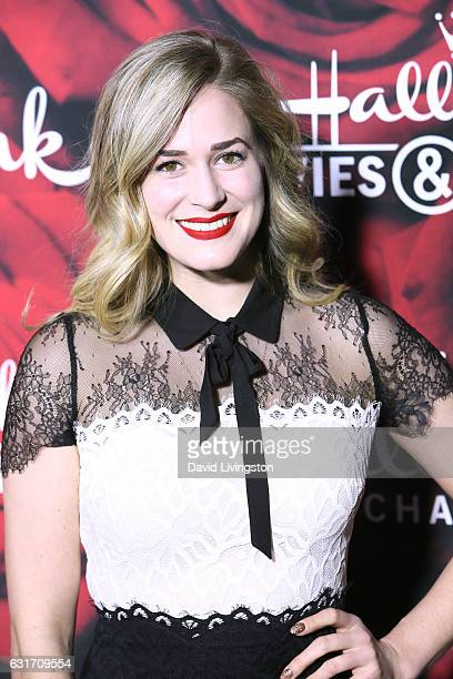 Actress Brittany Bristow attends Hallmark Channel and Hallmark Movies and Mysteries Winter 2017 TCA Press Tour at The Tournament House on January 14...