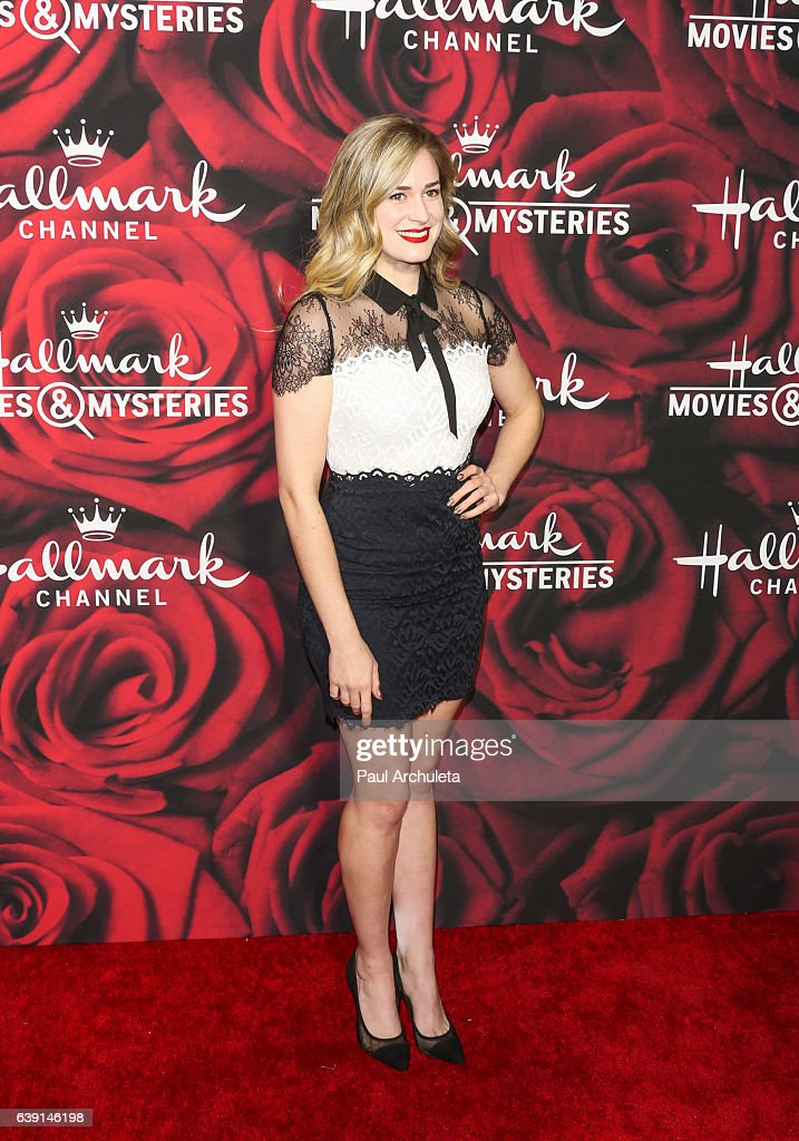 Hallmark Channel And Hallmark Movies And Mysteries Winter 2017 TCA Press Tour - Arrivals : News Photo