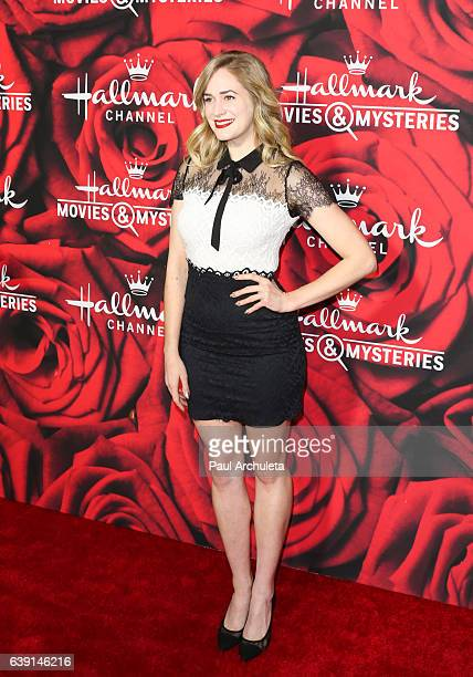 Actress Brittany Bristow attends the Hallmark Channel and Hallmark Movies and Mysteries Winter 2017 TCA Press Tour at The Tournament House on January...