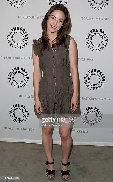 Actress Brittany Curran attends An Evening With Men Of A Certain Age Hosted by the Paley Center for Media on June 21 2011 in Los Angeles California