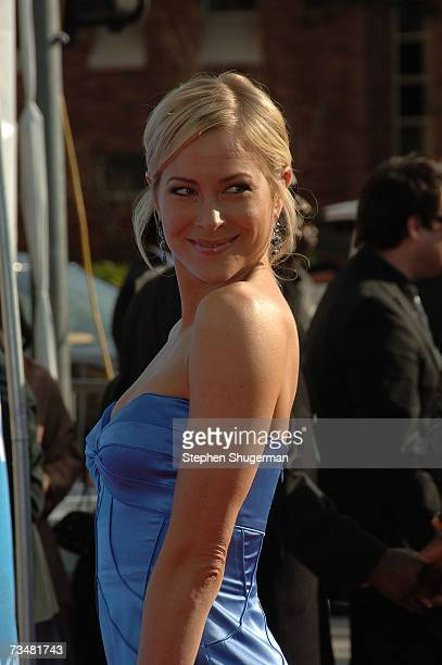 Actress Brittany Daniel arrives at the 38th annual NAACP Image Awards held at the Shrine Auditorium on March 2 2007 in Los Angeles California