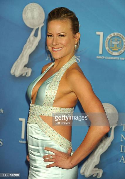 Actress Brittany Daniel arrives at the 40th NAACP Image Awards held at the Shrine Auditorium on February 12, 2009 in Los Angeles, California.
