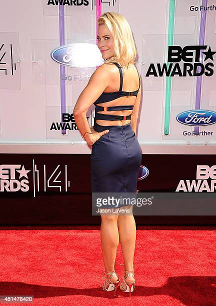 Actress Brittany Daniel attends the 2014 BET Awards at Nokia Plaza LA LIVE on June 29 2014 in Los Angeles California