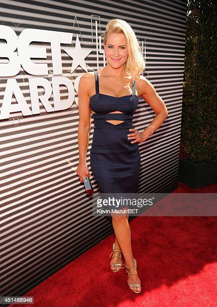 Actress Brittany Daniel attends the BET AWARDS '14 at Nokia Theatre L.A. LIVE on June 29, 2014 in Los Angeles, California.
