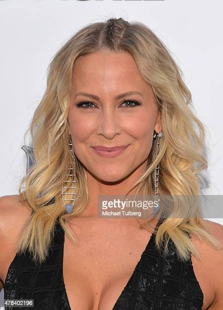 Actress Brittany Daniel attends the premiere of Crackle's new film Joe Dirt 2 Beautiful Loser at Sony Studios on June 24 2015 in Los Angeles...