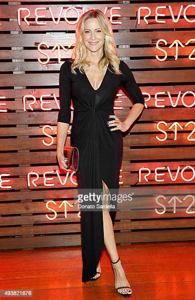 Actress Brittany Daniel attends the REVOLVE fashion show benefiting Stand Up To Cancer on October 22 2015 in Los Angeles California
