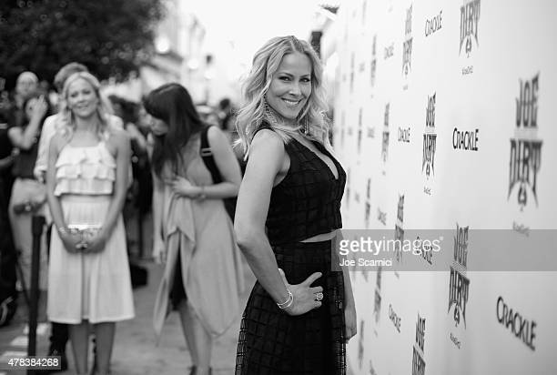 Actress Brittany Daniel attends the world premiere of Crackle's Joe Dirt 2: Beautiful Loser at Sony Pictures Studios on Wednesday, June 24, 2015 in...