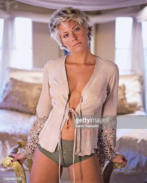 Actress Brittany Daniel poses for a photo in December 1998 in Los Angeles, California