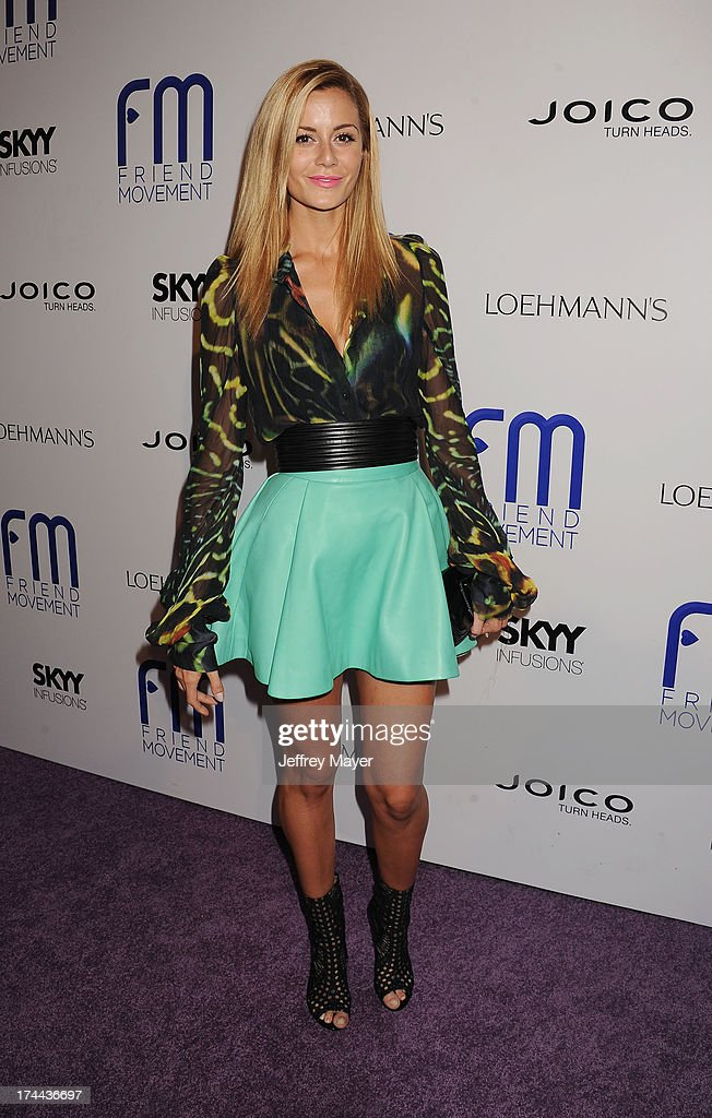 Actress Brittany Mason attends the Friend Movement Anti-Bullying Benefit Concert at the El Rey Theatre on July 1, 2013 in Los Angeles, California.
