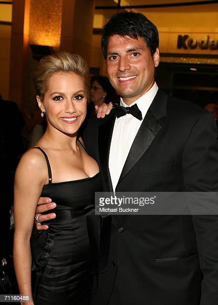 Actress Brittany Murphy and boyfriend Joe Macaluso depart the 34th AFI Life Achievement Award tribute to Sir Sean Connery held at the Kodak Theatre...