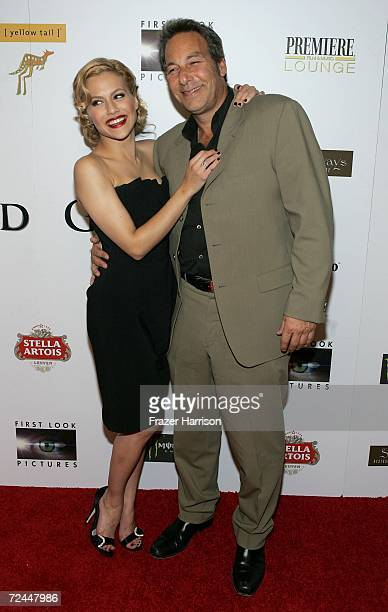 """Actress Brittany Murphy and Producer Henry Winterstern arrive at the Premiere Lounge after party for """"The Dead Girl"""" during AFI FEST 2006 presented..."""