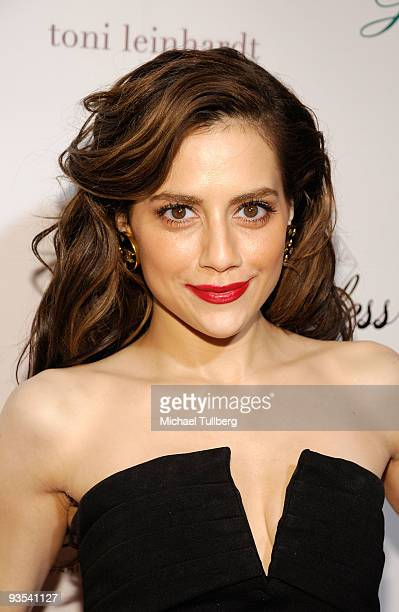 Actress Brittany Murphy arrives at the premiere Across The Hall on December 1 2009 in Beverly Hills California