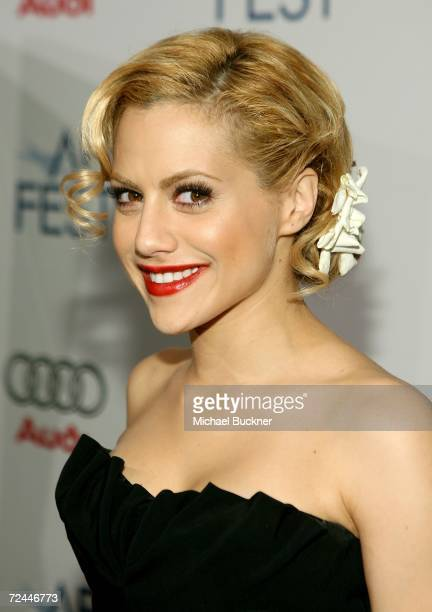 Actress Brittany Murphy arrives at the World Premiere of The Dead Girl during the AFI FEST 2006 presented by Audi held at The LOFT at Arclight...