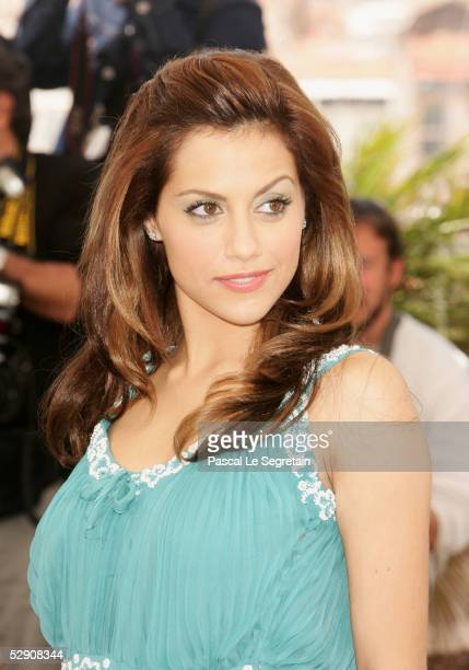 Actress Brittany Murphy attends a photocall promoting the film Sin City at the Palais during the 58th International Cannes Film Festival May 18 2005...