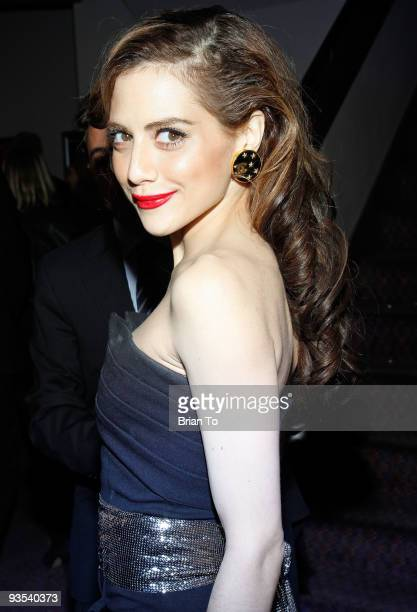 Actress Brittany Murphy attends 'Across The Hall' Los Angeles Premiere at Laemmle's Music Hall 3 on December 1 2009 in Beverly Hills California