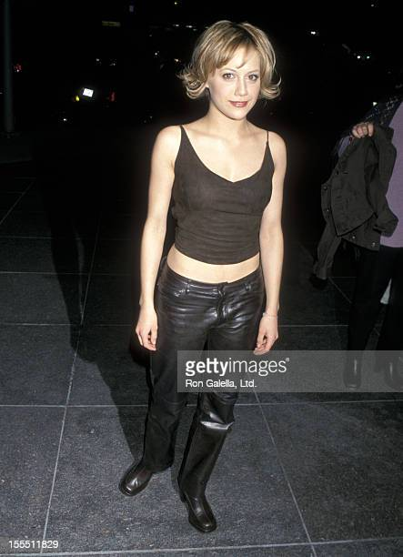 Actress Brittany Murphy attends the Common Ground Los Angeles Premiere on January 27 2000 at DGA Theatre in Los Angeles California