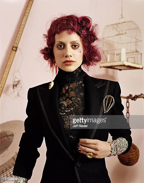 Actress Brittany Murphy is photographed for the New York Times Magazine in 2002 in New York City