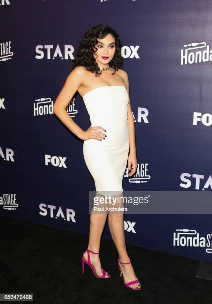 Actress Brittany O'Grady attends the celebration of the music for FOX's new series 'Star' at iHeartRadio Theater on March 14 2017 in Burbank...