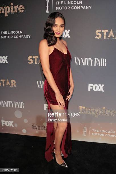 Actress Brittany O'Grady poses on the red carpet during the 'Empire' 'Star' Celebrate FOX's New Wednesday Night at One World Observatory on September...