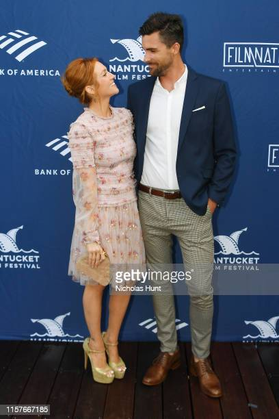 Actress Brittany Snow and attends the Screenwriters Tribute at Sconset Casino during the 2019 Nantucket Film Festival Day Four on June 22 2019 in...