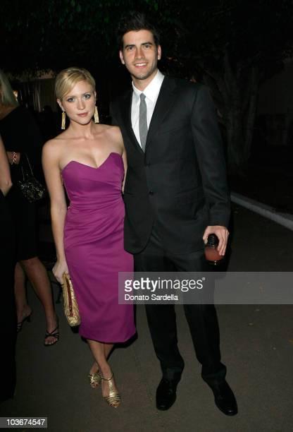 """Actress Brittany Snow and Ryan Rottman attend The Art of Elysium's 3rd Annual Black Tie Charity Gala """"Heaven"""" on January 16, 2010 in Beverly Hills,..."""