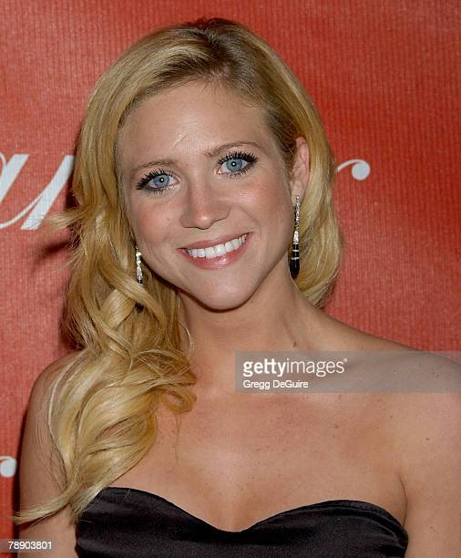 Actress Brittany Snow arrives at the 2008 Palm Springs International Film Festival Awards Gala at the Palm Springs Convention Center on January 5,...