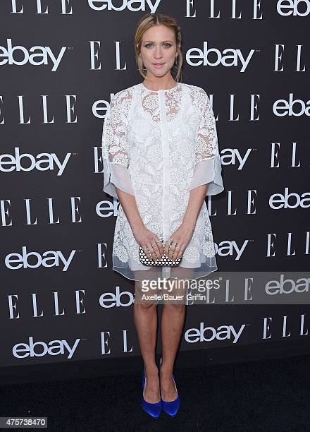 Actress Brittany Snow arrives at the 6th Annual ELLE Women In Music Celebration Presented by eBay at Boulevard3 on May 20 2015 in Hollywood California