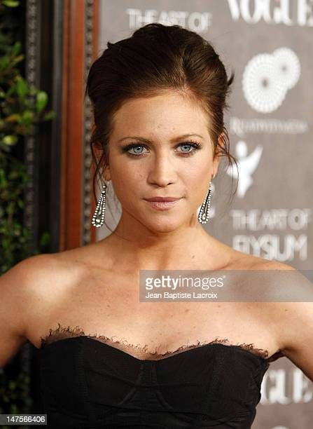 Actress Brittany Snow arrives at the Art of Elysium 2nd Annual Heaven Gala held at Vibiana on January 10, 2009 in Los Angeles, California.
