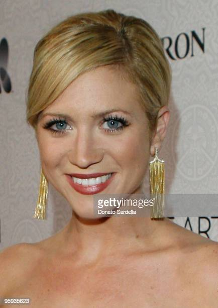 Actress Brittany Snow arrives at The Art of Elysium's 3rd Annual Black Tie Charity Gala 'Heaven' on January 16 2010 in Beverly Hills California
