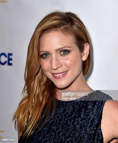 Actress Brittany Snow arrives at the premiere of DIRECTV Audience Network's Full Circle season two at the London Hotel on March 16 2015 in West...