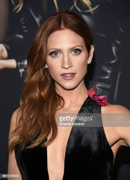 "Actress Brittany Snow arrives at the premiere of Universal Pictures' ""Pitch Perfect 3"" on December 12, 2017 in Hollywood, California."