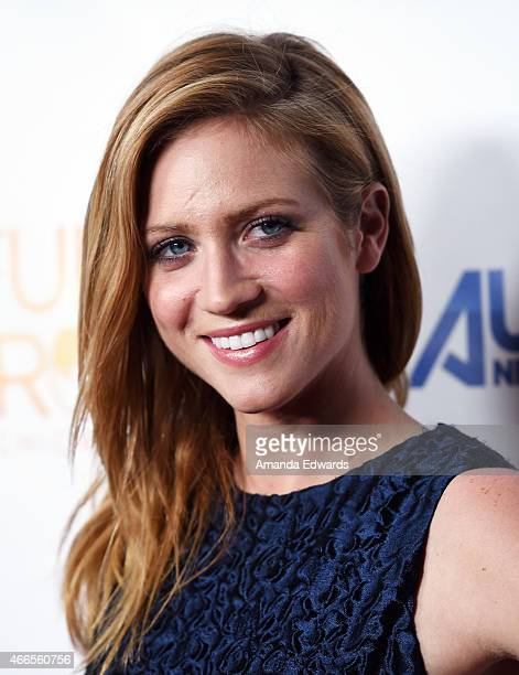 Actress Brittany Snow arrives at the season two premiere of DIRECTV's Full Circle at The London on March 16 2015 in West Hollywood California