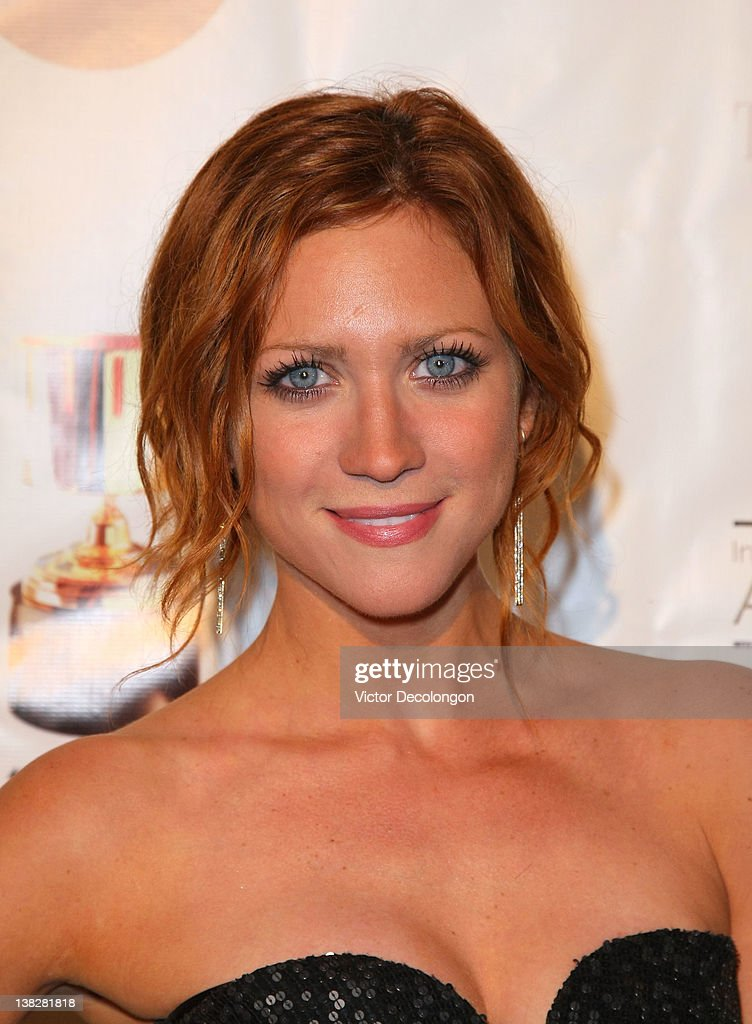 Actress Brittany Snow arrives for the 39th Annual Annie Awards at Royce Hall, UCLA on February 4, 2012 in Westwood, California.