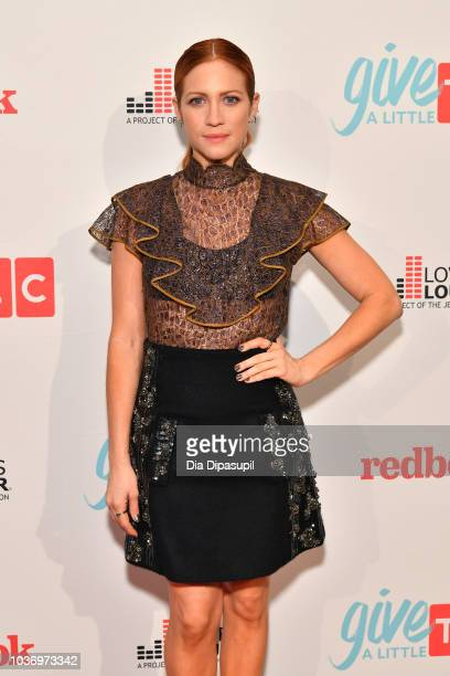 Actress Brittany Snow attends 2018 TLC's Give A Little Awards on September 20 2018 at Park Hyatt in New York City
