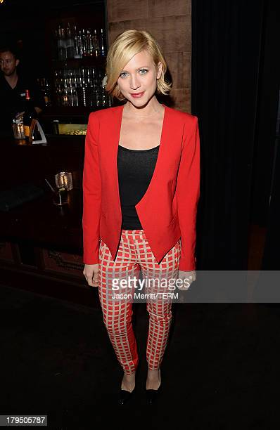 Actress Brittany Snow attends a private event at Hyde Lounge hosted by Dell for the Beyonce concert at The Staples Center on July 1 2013 in Los...