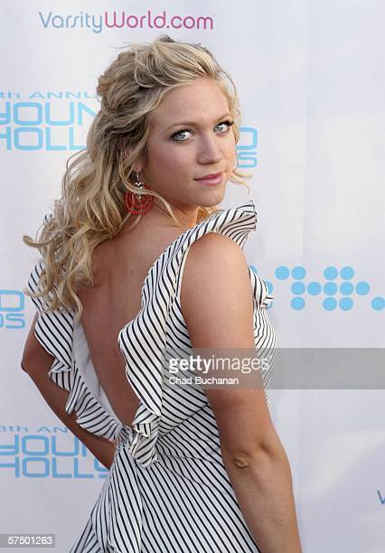Actress Brittany Snow attends Movieline's Hollywood Life 8th Annual Young Hollywood Awards at the Music Box at The Fonda on April 30 2006 in...