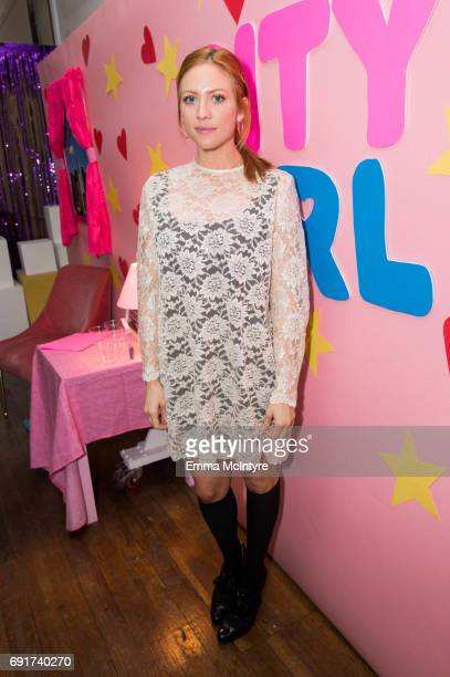 Actress Brittany Snow attends 'Super Deluxe and Sarah Ramos present a live reading of City Girl' on June 2 2017 in Los Angeles California