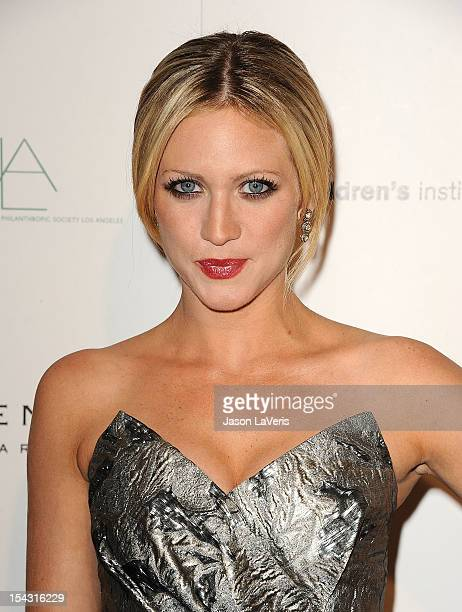 Actress Brittany Snow attends the 3rd annual Autumn Party at The London West Hollywood on October 17, 2012 in West Hollywood, California.