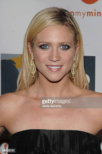 Actress Brittany Snow attends the 8th Annual Jed Foundation Gala at Guastavino's on June 11 2009 in New York City