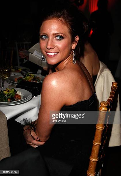 Actress Brittany Snow attends the Art of Elysium 2nd Annual Heaven Gala held at Vibiana on January 10, 2009 in Los Angeles, California.