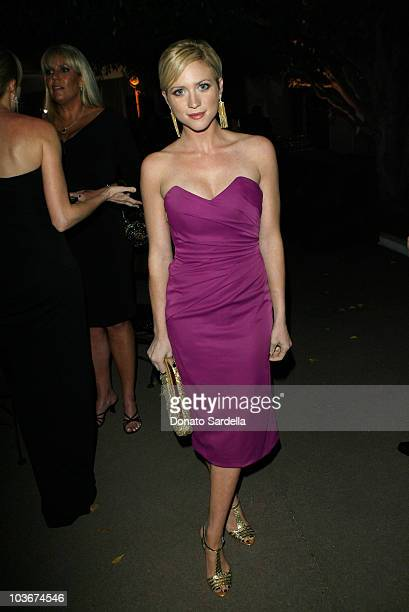 """Actress Brittany Snow attends The Art of Elysium's 3rd Annual Black Tie Charity Gala """"Heaven"""" on January 16, 2010 in Beverly Hills, California."""