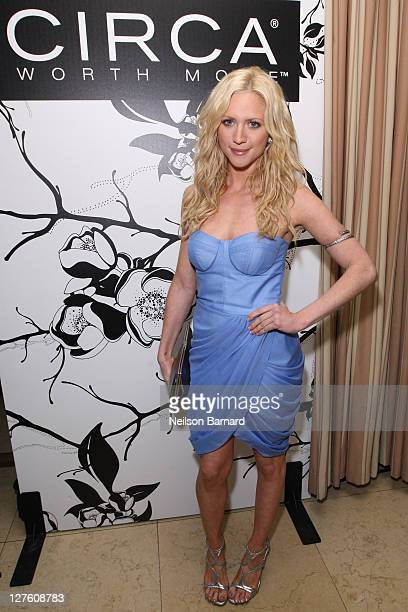 Actress Brittany Snow attends the Hollywood Domino PreOscar Gala Benefiting 7 Bar Foundation presented by CIRCA at Sunset Tower on February 24 2011...