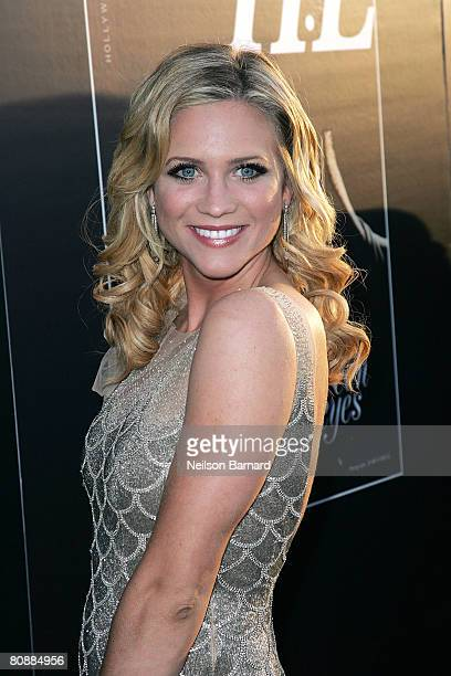 Actress Brittany Snow attends the Hollywood Life magazine's 10th Annual Young Hollywood Awards at Avalon on April 27, 2008 in Hollywood, California.