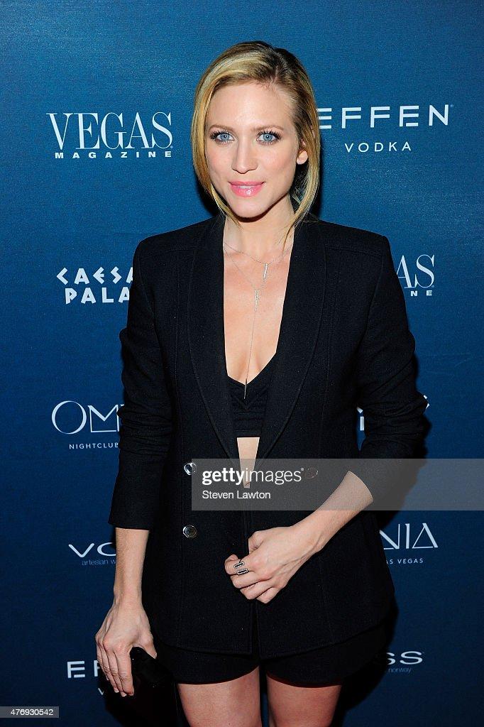 Vegas Magazine Celebrates 12th Anniversary With Brittany Snow